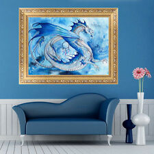 5D Diamond Dragon In The Sky Embroidery Painting Cross Stitch Kit Home Decor DIY