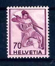 SWITZERLAND - SVIZZERA - 1941 - STORIA: guerriero. B3463