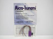 Soundtraxx Micro-Tsunami 826003 Heavy Steam TSU-750 Digital Sound Decoder, New
