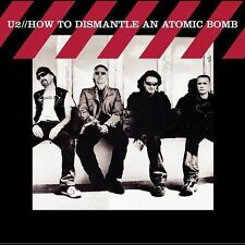 U2 - HOW TO DISMANTLE AN ATOMIC BOMB - NEW - CD - BONO THE EDGE