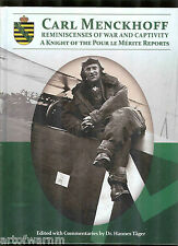 CARL MENCKHOFF - Pour le Merite German Ace of WW 1  by Tager HB new copy
