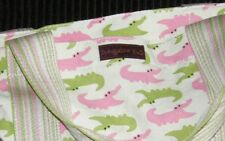 Bungalow 360 Gator Beach Bag Übër Cute Quality Washable Natural Canvas Bag