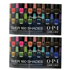 LOT 2 OPI WINDOW CLING New Design GelColor Gel Nail Lacquer GC900 GL900 GL901