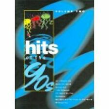 Hits of the 90s Vol 2 Piano Vocal Guitar Songbook Sheet Music Nineties S25