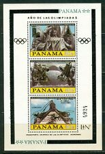 Panama Olympische Spiele Olympic Games 1980 Block MNH Apollo Concord Lindbergh