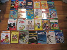 Lot 25 Levels 1-5 HELLO READER I Can Read STEP INTO READING DK Readers Books