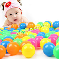 400 pc Swim Fun Colorful Soft Plastic Quality Secure kids Ocean Ball Kid Pit Toy