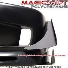 92-95 Honda Civic EG FRONT BUMPER BLACK ALUMINUM CANARDS SPLITTER DIFFUSER WING