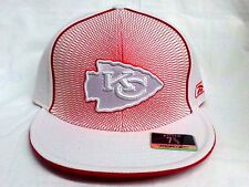 NEW ! NFL Kansas City Chiefs  Embroidered Fitted Cap 7 3/8