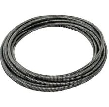 "General Wire Flexicore Drain Cleaning Pipe Replacement Cable 50' x 1/4"" #50HE1"