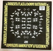 Roberta Flack Donny Hathaway (1972 Import LP Vinyl Cleaned Playtested ATL40380)