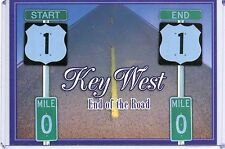 "START & END ROUTE 1,END OF THE ROAD,MILE MARKER ""0""-KEY WEST,FL"
