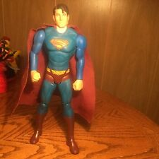 SUPERMAN TM & DC COMICS 10 inch ACTION FIGURE HERO Collectors