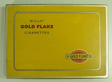 OLD WILL'S GOLD FLAKE CIGARETTES TIN CASE / HOLDER