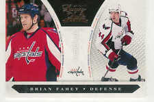 2010-11 PANINI LUXURY SUITE BRIAN FAHEY RC /899 #225 WASHINGTON CAPITALS