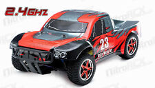 1/10 RC Rally Monster Electric Brushless RTR Racing Short Course Truck DD RED