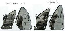carbon fiber heel guards plate Suzuki TL1000 S R, SV650, GSX-R 600 750 1996-2000