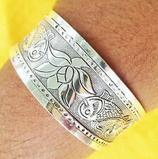SACRED LUCK LOVE & PROTECTION SILVER FASHION BRACELET BLESSED BY MIRACLE MONKS(4