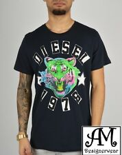New Men's Diesel T-Shirt THE-KING Cotton T-Shirt in 3 Colour All Sizes RRP£55