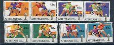 Aitutaki 1981 coppa del mondo di calcio 318-25 mnh