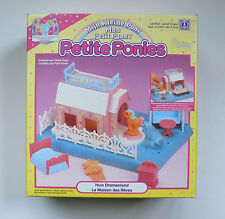Vintage My Little Pony Petite Ponies WHINNIE WINKS INN Pegasus 1990 Hasbro MIB