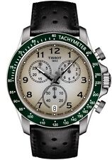 NEW TISSOT V8 QUARTZ CHRONO GREEN BEZEL T106.417.16.032.00 T1064171603200