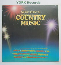 NOW THAT'S COUNTRY MUSIC - Various - Excellent Condition LP Record JCI JCI-4104