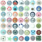 VINTAGE SHABBY CHIC VARIOUS COLOUR CERAMIC CUPBOARD DOOR KNOBS DRAWER PULLS KB07