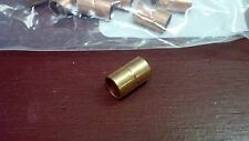 "Copper Coupling For 3/8"" O.D. Tubing One Coupling w/ stop ring"