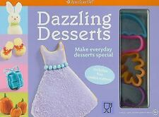 "AMERICAN GIRL ""DAZZLING DESSERTS"" - NEW - COOKIE CUTTERS INCLUDED - YUMMY"