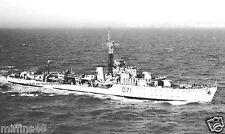 ROYAL NAVY C CLASS DESTROYER HMS CONSTANCE - KOREAN WAR - FAR EAST FLEET