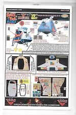 TSDS Lost in Space, Space POD Decal Upgrades for Moebius Kit TDS 110 ST