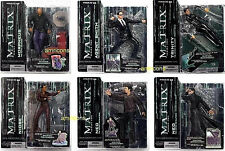 McFarlane Toys Matrix Series 2  6 Action Figure Set 2003 Neo Trinity Morpheus