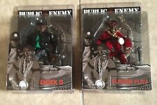 Mezco Public Enemy Chuck D & Flavor Flav set 2 action figures NEW factory sealed