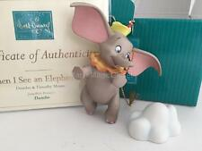 "NIB MINT WDCC ""When I See An Elephant Fly"" Dumbo & Timothy Mouse Ornament COA"