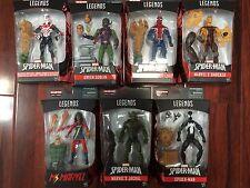 IN STOCK! 8X ACTION FIGURE LOT AMAZING SPIDER-MAN Marvel Legends SET BAF SANDMAN
