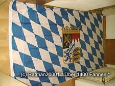 Fahnen Flagge Bayern Wappen - 2 - 150 x 250 cm
