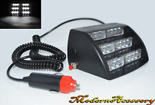 White 18 LED Strobe Police Emergency Flashing Warning Light for Car/Truck C