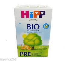 (21,65€/kg) 600g HIPP BIO Anfangsmilch PRE Verwendung von Geburt