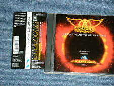 AEROSMITH Japan 1998 NM Maxi-CD+Obi I DON'T WANT TO MISS A THING