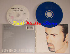 CD Singolo GEORGE MICHAEL Jesus to a child 1996 DIGIPACK italy VIRGIN mc lp(S5*)