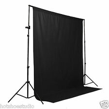 8 x 12 ft Black Screen Studio Photography Backdrop Background