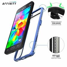 POETIC Dual material Protective Case Cover for Samsung Galaxy Grand Prime Blue