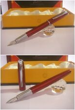 Stylo Picasso 916 Red Electric Fountain Pen - Stilografica NIb France siz M