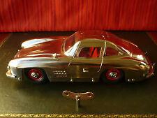N Mint Marklin 1952 Tin Wind-up Chrome Mercedes 300 SL Museumsmodell Orig. Box
