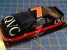Painted 4.5 inch Stock Car #7 QVC 1/24 from MidAmerica Raceway