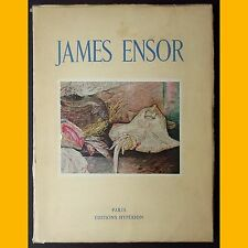 JAMES ENSOR Paul Fierens Éditions Hypérion 1943