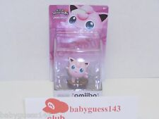Jigglypuff amiibo Figure First Print USA Edition | NiB Very Rare Mint Condition