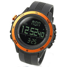 LAD WEATHER German Sensor Orange Weather Forecast Digital Compass Outdoor Watch