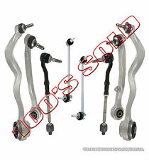 FRONT CONTROL ARM ARMS BALL JOINT JOINTS TIE RODS SWAY BAR LINK KIT for BMW E60